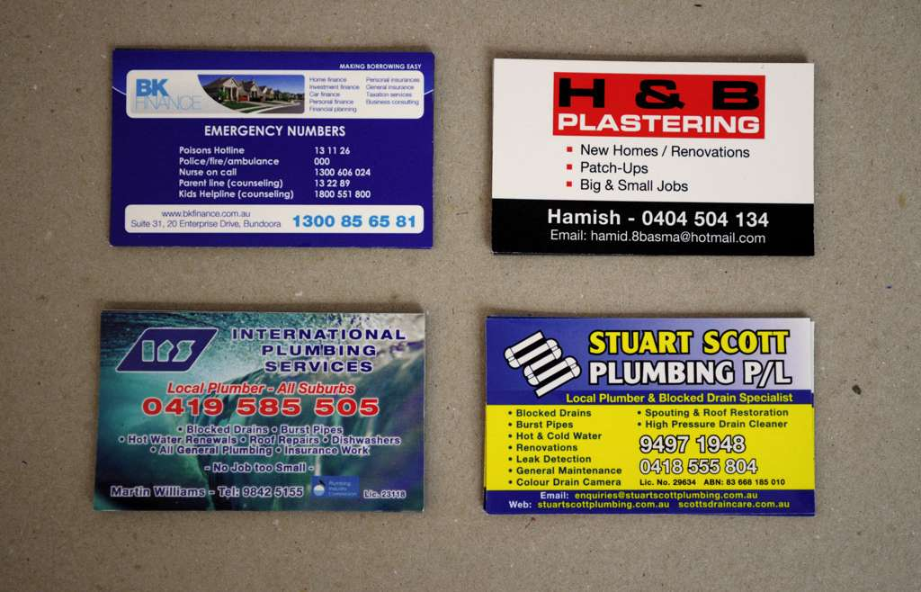 Fast Turnaround Business Cards